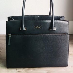 Kate Spade large black satchel